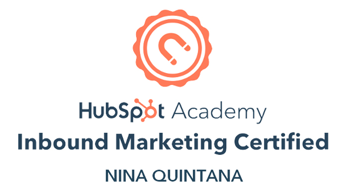 Inbound Marketing Certified